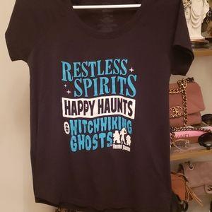 Womens Funko disney t shirt haunted mansion
